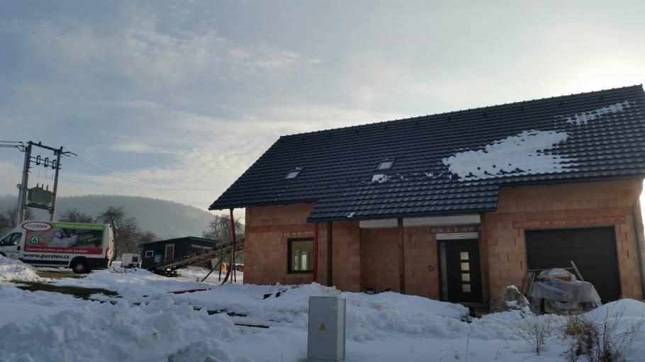 Zateplení podkroví v Lipina-Valašské Klobouky